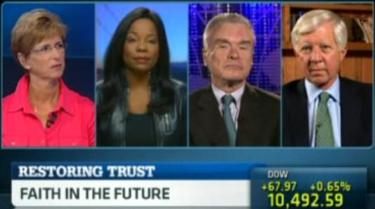 bill george on cnbc discussing leadership in corporate america