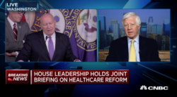 bill george on cnbc discussing gop plan for healthcare reform