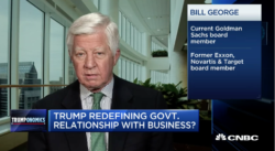 bill george discussing time warner and at&t deal on cnbc