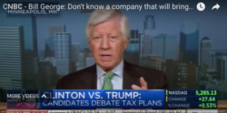 bill george on cnbc discussing bringing back jobs