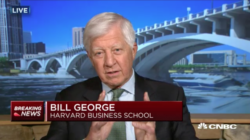 bill george discusses trump's withdrawl from the paris climate accord on cnbc