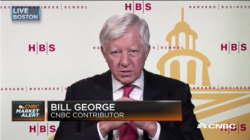 bill george on cnbc discussing harvard business school