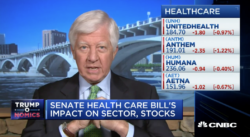 bill george on cnbc this is not a health-care bill, this is a giant tax cut