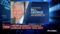 bill george on cnbc discussing ceos do not fear president trump
