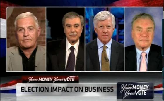 bill george on cnbc discussing election impact on business