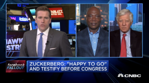 Bill George on CNBC discussing Facebook and Cambridge Analytica scandal