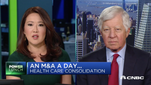 Bill George on CNBC discussing Cigna and Express scripts merger