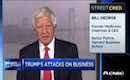Bill George discusses Trump's attacks on businesses on CNBC
