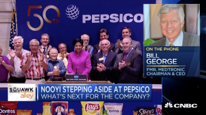 Bill George discusses Indra Nooyi on CNBC