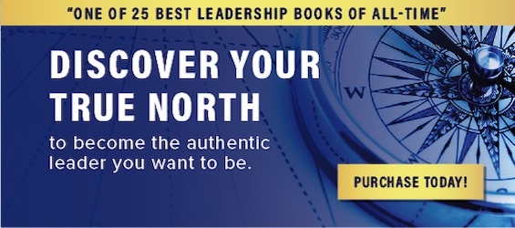 Discover Your True North book by Bill George named one of 25 best leadership books of all-time